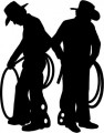 Cowboy Roundup Wall Decal