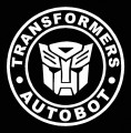 1 BADGE DECAL Diecut Autobot
