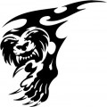 Tribal Lion Stickers 16