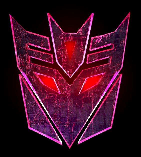 Decepticon Purple Logo Custom Wall Graphics