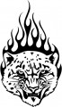 Tribal Cat Sticker Decals 46