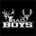 Deer Hunting Bad Boys Sticker