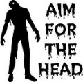 Aim For Head Wall Decal
