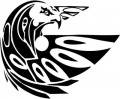 Tribal Eagle Stickers 21