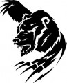 Tribal Bear Sticker Decals 22