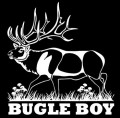 Bugle Boy Stag Decal