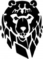 Tribal Bear Sticker Decals 30