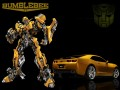 Transformers Bumblebee  Rectangular Decal