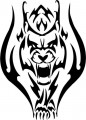 Tribal Wolf Sticker 25