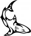 Tribal Shark Stickers 2