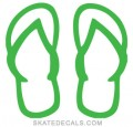 flip flops wall decals