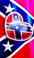 Love Rebel Flag Sticker