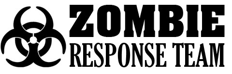 Zombie Response Wall Decal Custom Wall Graphics