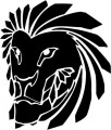Tribal Lion Stickers 26