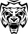 Tribal Tiger Stickers 13