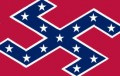 Confederate swastikas sticker
