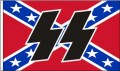 rebel ss flag sticker