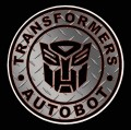 1 BADGE DECAL Diamond Plate Autobot