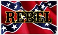 REBEL Rebel Battle Flag Sticker