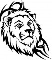 Tribal Lion Stickers 32