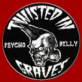 Round Psychobilly Zombie Wall Sticker