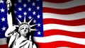 USA Flag Liberty Sticker