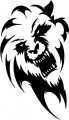 Tribal Lion Stickers 15