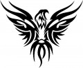 Tribal Eagle Stickers 04