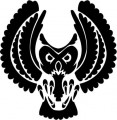 Tribal Owl Stickers1