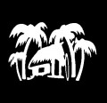 shack hawaiian decal