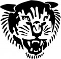 Tribal Tiger Stickers 27