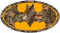 Batman Oval Camo Nature Wall Sticker