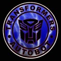 1 BADGE DECAL Lightning Autobot