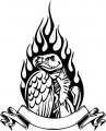 Tribal Eagle Stickers 11