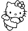Hello Kitty Angel Sticker 3
