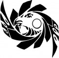 Tribal Eagle Stickers 20