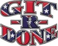 git r done decal confederate flag sticker 2