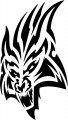 Tribal Cat Sticker Decals 39