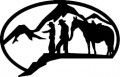 Mountain Riding Wall Decal
