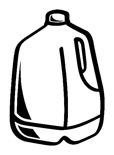 Milk Carton Sticker, food and drink decal, food and drink ...
