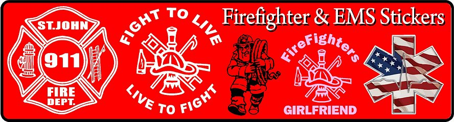 Firefighter Wall Decals