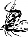 Tribal Alligator Decal Stickers 08