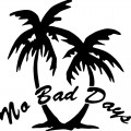 No Bad Days Vinyl Car Decal