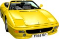 Ferrari F355 Wall Graphic