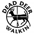 Dead Deer Walkin Decal