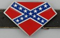super rebel belt buckle shield design sticker