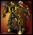 Bumblebee Autobot Transformers Rectangular Decal