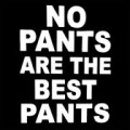 no pants are the best pants die cut decal