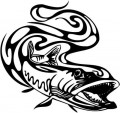 Tribal Fish Stickers 6