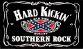 old time rebel hard kickin souther rock sticker